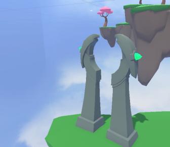 Bird Statue Portal
